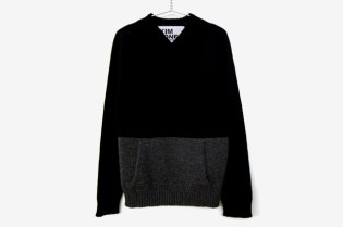 Kim Jones Archive V-Neck Kangaroo Knit Sweater