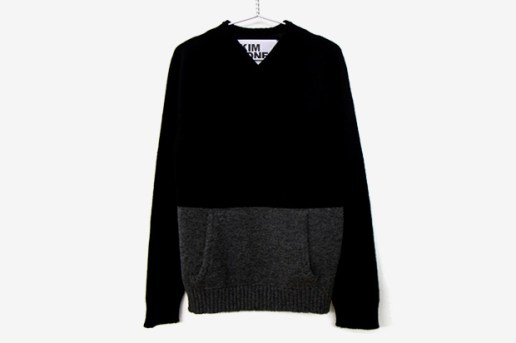 Kim Jones Archive V-Neck Kangaroo Knit Sweater