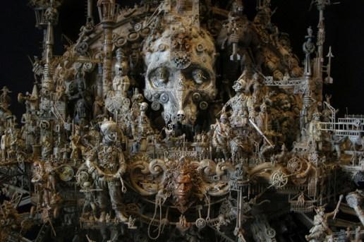 "Kris Kuksi ""Beast Anthology"" Exhibition"