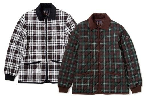 Lavenham x SOPHNET. Raydon Check Jackets