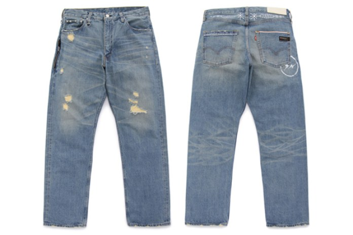 Levi's Fenom Crystal Package DISCO Decoration Denim