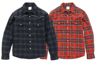 Levi's Fenom Metallic DISCO Flannel Western Shirt