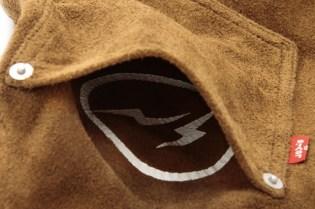 Levi's Fenom Rucker Suede Jacket & Long Sleeve Shirts