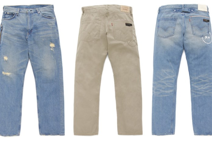 Levi's Fenom Turquoise Package Denim & Hard Wash Chinos