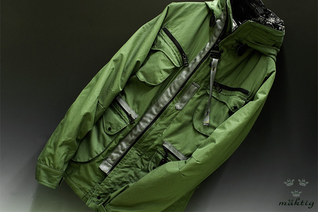 "maktig x Mt. Rainier Design Works ""Hot Milk"" Mountain Parka"