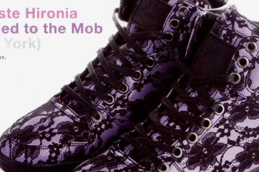 Married to the Mob x Lacoste Hironia Sneaker Preview
