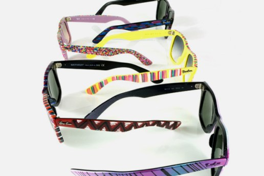 Maya Hayuk x Ray-Ban Wayfarers Collection