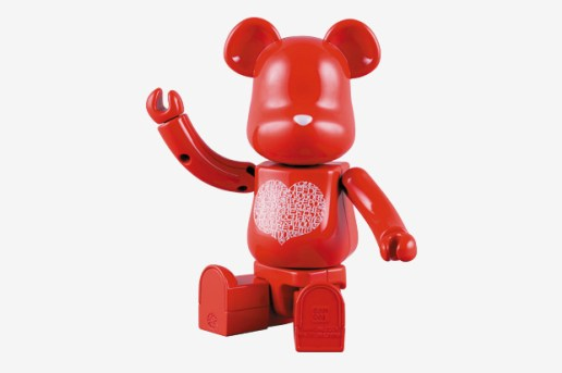 Medicom Toy 200% Chogokin International Love Heart Bearbrick