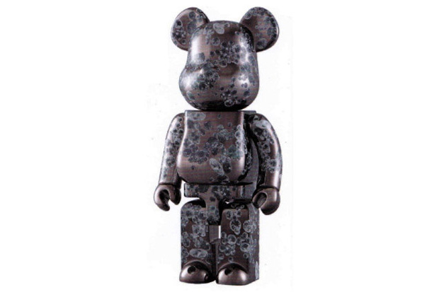 Medicom Toy Matt Black Bearbrick 400%