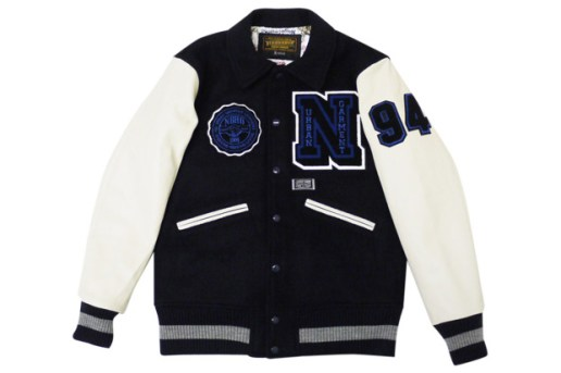 NEIGHBORHOOD W.D.W.Y.F.W Melton Wool Stadium Jacket