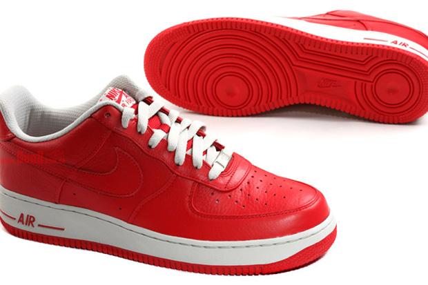 Nike Air Force 1 Premium Sport Red