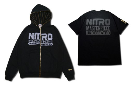 Nitro Microphone Underground x UNDFTD x Master-Piece Collection