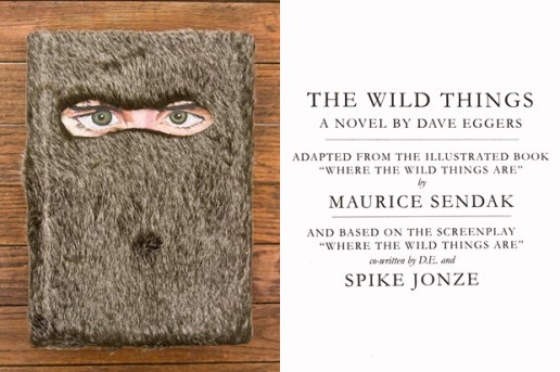 Opening Ceremony x Where The Wild Things Are Novel by Dave Eggers