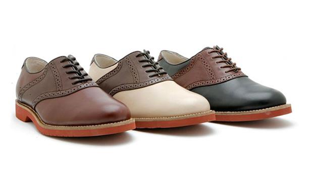 Original Bass Saddle Shoes
