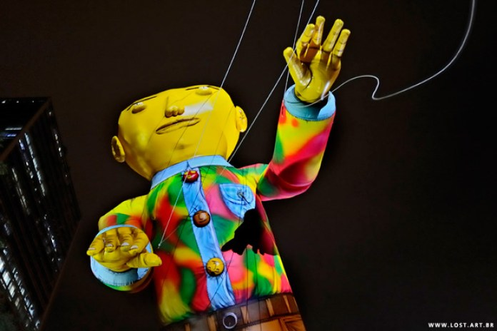 Os Gemeos' Massive Parade Balloon