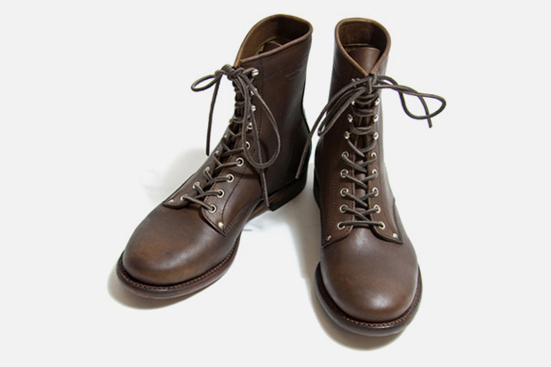 """Phigvel 8"""" Lace Up Boots"""