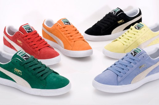 Puma Clyde 2010 Spring Collection