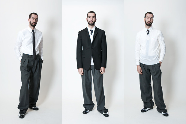 Raf Simons for Fred Perry 100 Year Collection