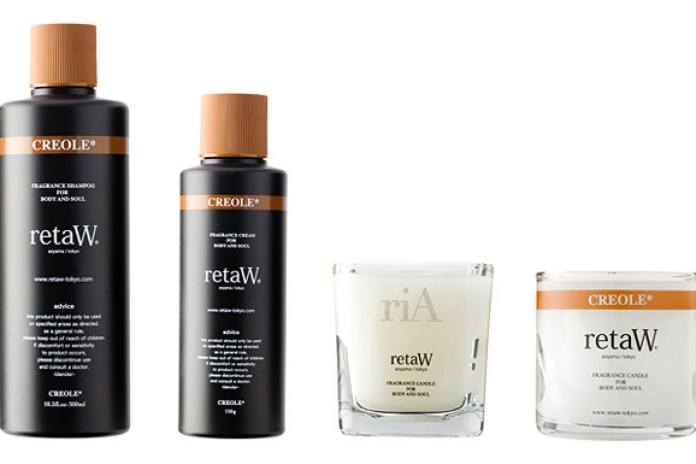 retaW Creole Toiletries and Candles