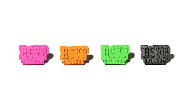 RSVP Gallery Logo Pins
