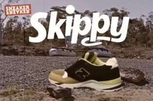 "Sneaker Freaker x New Balance M850JST ""Skippy's Message"" Video"