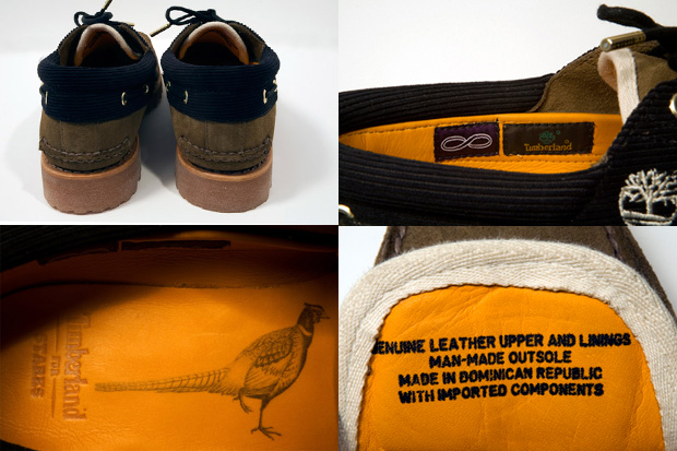 Starks x Timberland 3-Eye Handsewn Classic Shoe Preview