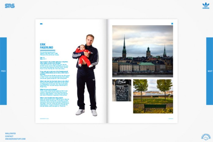 Stockholm Magazine Presented by Sneakersnstuff & adidas Originals