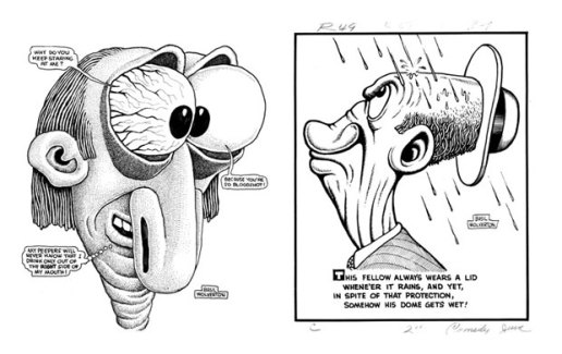Stussy Feature: Basil Wolverton
