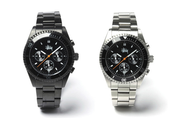 Stussy Chronometer Crewsader Watches