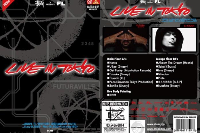 Stussy x Futura Laboratories present Live in Tokyo Event