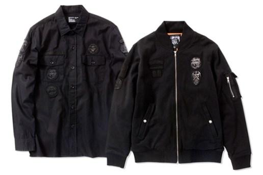 Stussy Scout Flight Jacket and Shirt