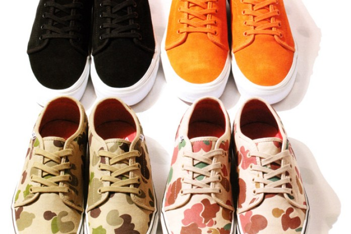 Supreme x Vans V-106 Collection Preview