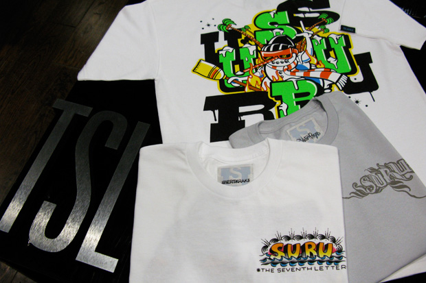 The Seventh Letter x SURU T-Shirt Collection