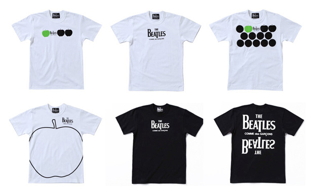 The Beatles x COMME des GARCONS Collection