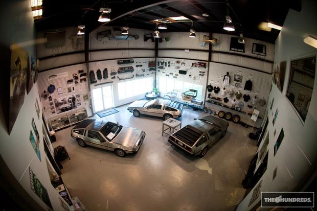 DeLorean Motor Co. x The Hundreds Part II