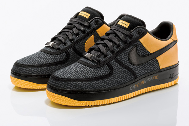 Undefeated x Nike 'Livestrong' Air Force 1