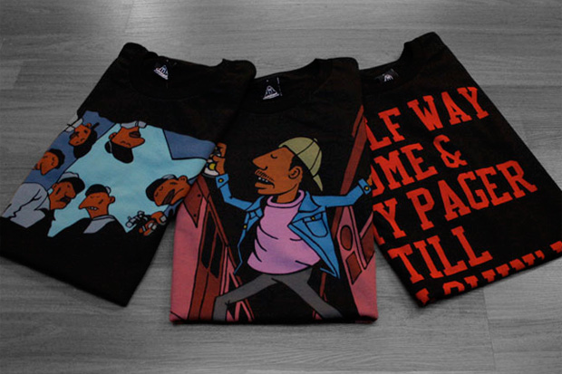 """Grotesk x Upper Playground """"Legends"""" Tee Collection"""