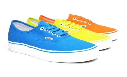 "Vans Authentic ""Neon"" Collection"