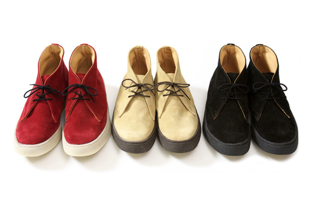 Victim x George Cox Suede Chukka Boots Collection