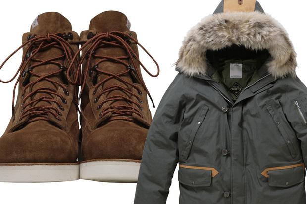 visvim Bear Boots-Folk & Valdez Down Coat 2L