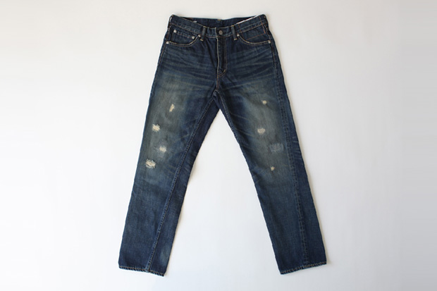 visvim Fluxus Damaged Denim 2.5
