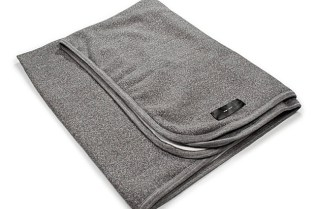 Wings + Horns Tiger Fleece Blanket