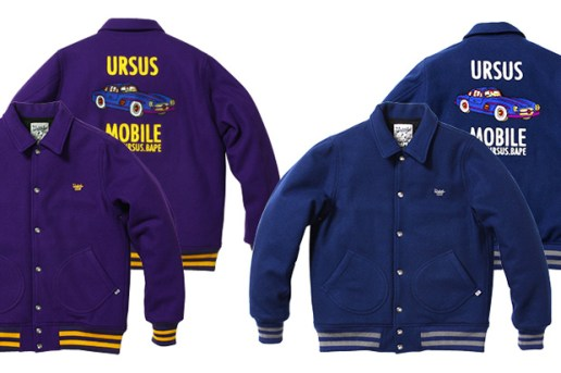 WTAPS x A Bathing Ape URSUS Melton Jacket