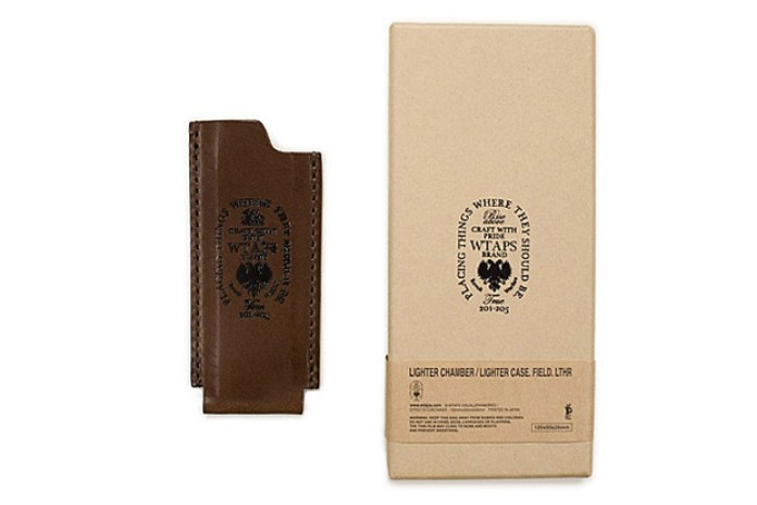 WTAPS Leather Lighter Case