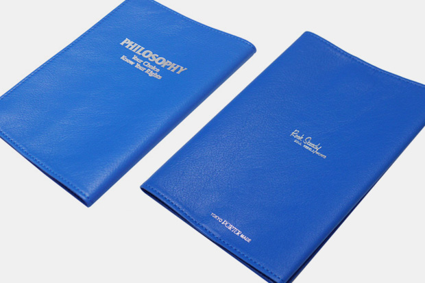 WTAPS x Rock Steady x Porter Leather Book Cover