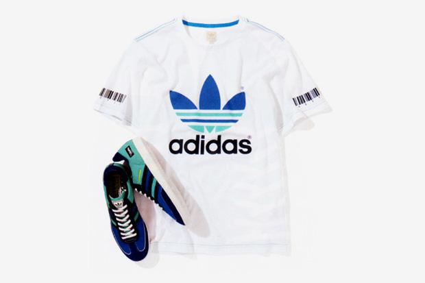 YOPPI x adidas Originals Five-Two 3 Samba & T-Shirt