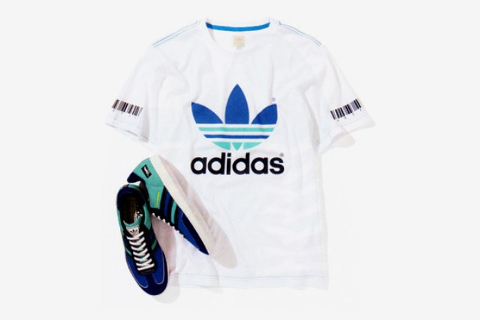YOPPI x adidas Originals Five-Two 3 Samba & T-Shirt