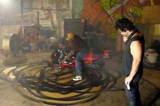 """Aaron Young """"Motorcycle Art"""""""