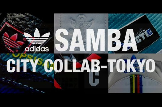 adidas Originals Samba Tokyo Cities Pack with Cheez & Kalavinka & YOPPI