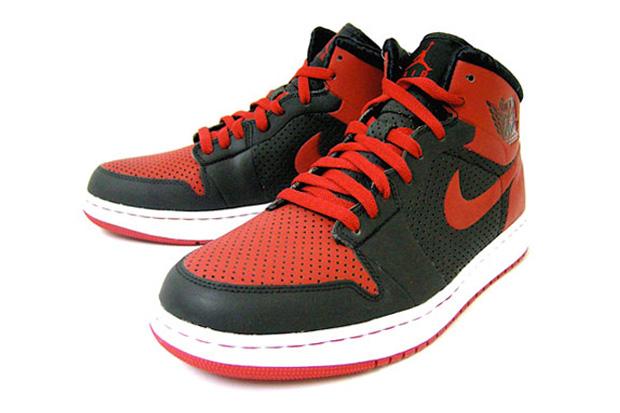 Air Jordan Alpha 1 Black/Varsity Red
